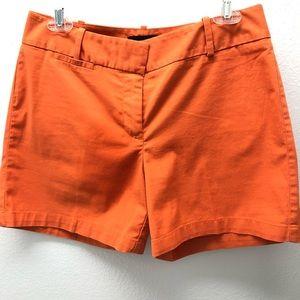 Talbots Shorts sz 4 orange Ladies (8)